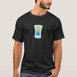 Blue Curacao shotglass T-Shirt