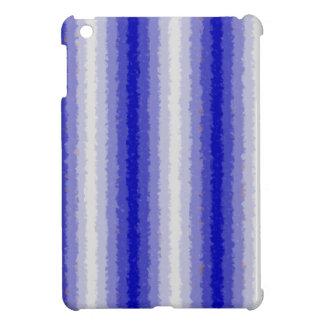 Blue Curly Stripes Case For The iPad Mini