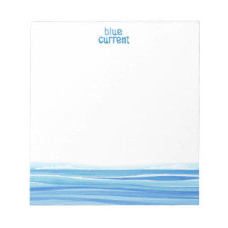 Blue Current Brewery - Label Note Pad
