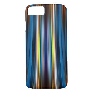 Blue curving lines pattern iPhone 8/7 case