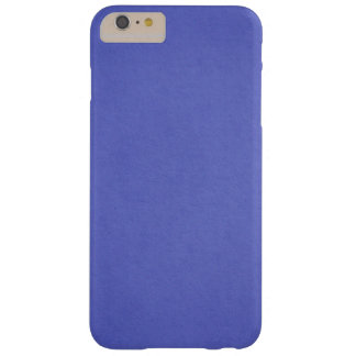 Blue Custom Barely There iPhone 6 Plus Case