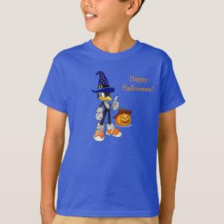 Blue Custom Halloween T-shirts For Kids - Penguin