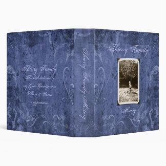 "Blue Custom Photo Family History (1.5"") Binders"