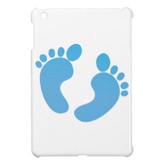 Blue cute baby feet maternity iPad mini cover