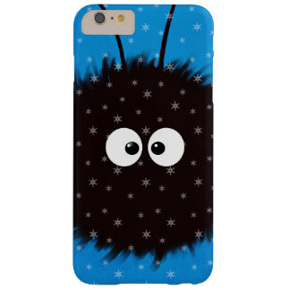Blue Cute Fluffy Dazzled Bug Character Winter Barely There iPhone 6 Plus Case