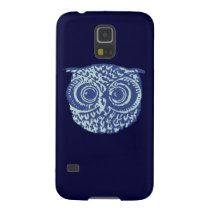 Blue cute owl picture case for galaxy s5
