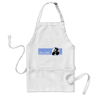Blue Cycling Adult Apron