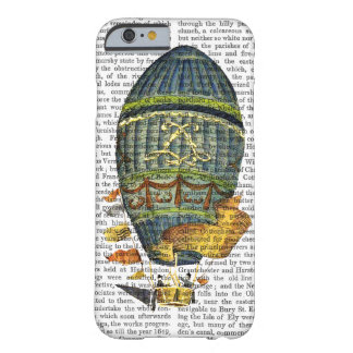 Blue Cylindrical Hot Air Balloon Barely There iPhone 6 Case