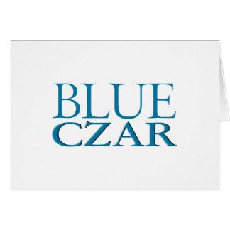 Blue Czar Greeting Cards