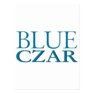 Blue Czar Postcard