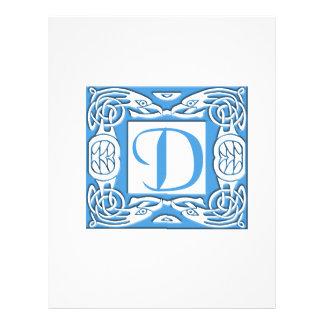 Blue D Full Color Flyer
