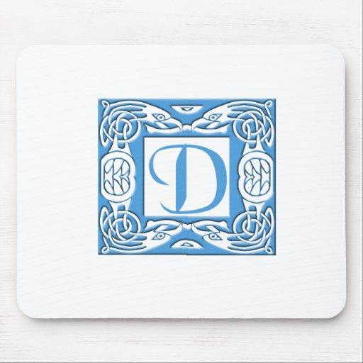 Blue D Mousepad