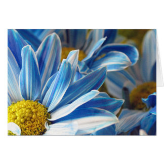 Blue Daises #2 Greeting Card