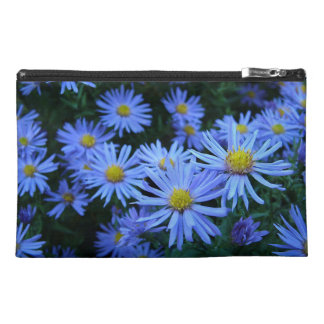 Blue Daisies Travel Accessory Bags