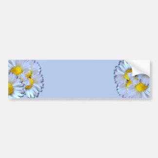 Blue Daisies Bumper Stickers