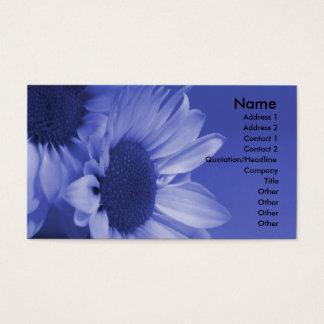 Blue Daisies Business Card