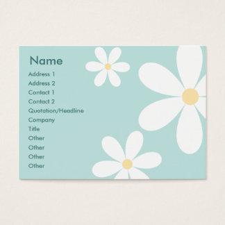 Blue Daisies - Chubby Business Card
