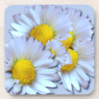 Blue Daisies Coasters