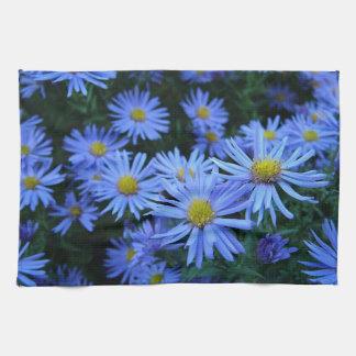 Blue Daisies Hand Towel