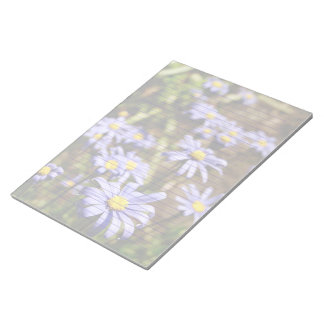 Blue Daisies Lined or Unlined Notepad