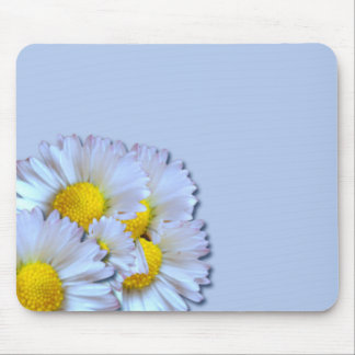 Blue Daisies Mouse Pad
