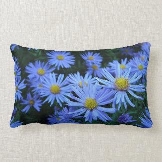 Blue Daisies Pillow