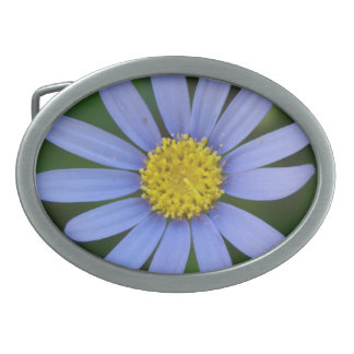 Blue Daisy - Belt Buckle