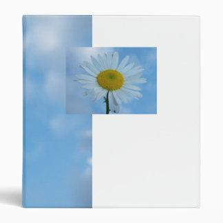 Blue Daisy Binder