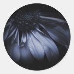 Blue Daisy Flower Stickers