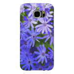 Blue Daisy-like Flowers Nature Photography Samsung Galaxy S6 Case