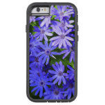 Blue Daisy-like Flowers Nature Photography Tough Xtreme iPhone 6 Case