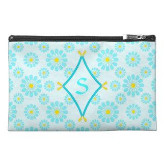 Blue Daisy Monogram Bag
