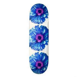 Blue Daisy Skateboard Deck
