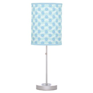 Blue Daisy Waves Lamps