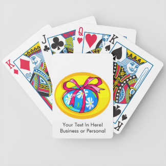 blue daisy wrapped easter egg yellow oval.png bicycle playing cards