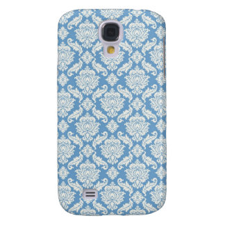 Blue Damask  Samsung Galaxy S4 Cover