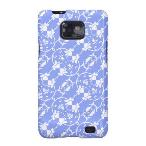 Blue Damask Hard Case