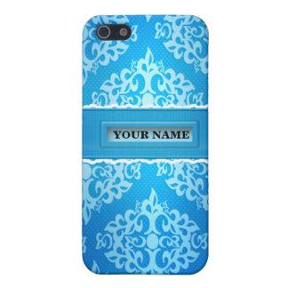 Blue Damask Iphone 4/4S Speck Case