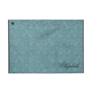 Blue Damask Pattern Covers For iPad Mini