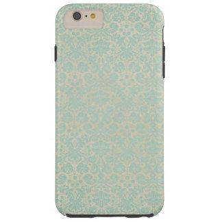 Blue Damasks Tough iPhone 6 Plus Case