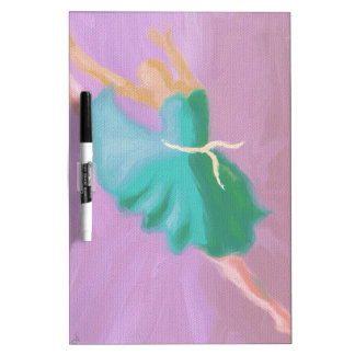Blue Dance Leap Dry-Erase Board