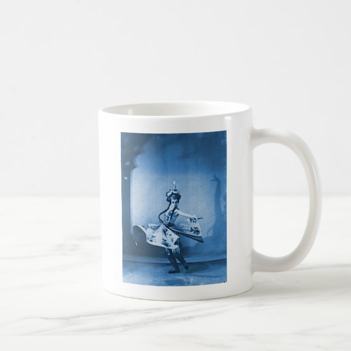Blue Dancer Digital Art Coffee Mug