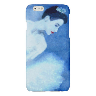 Blue Dancer Glossy iPhone 6 Case
