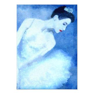 Blue Dancer Magnetic Card