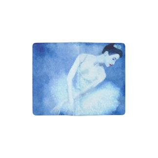 Blue Dancer Pocket Moleskine Notebook