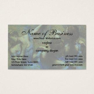 Blue Dancers by Edgar Degas Business Card