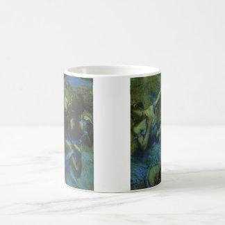 Blue Dancers by Edgar Degas, Vintage Impressionism Coffee Mug