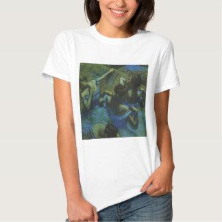 Blue Dancers by Edgar Degas, Vintage Impressionism T-Shirt
