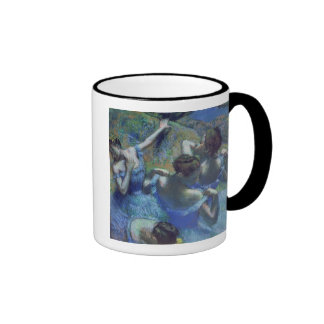 Blue Dancers, c.1899 Ringer Coffee Mug