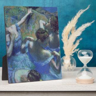 Blue Dancers, c.1899 (pastel) Plaque